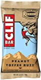 CLIF ENERGY BAR - Peanut Toffee Buzz - (2.4 oz, 12 Count)