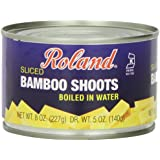 Roland Sliced Bamboo Shoots, 8-Ounce Cans (Pack of 24)