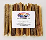 25 Pack 6 Inch Regular Shadow River Bully Sticks - Product of the USA