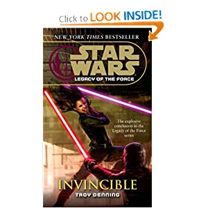 Invincible (Star Wars: Legacy of the Force, Book 9) by Troy Denning
