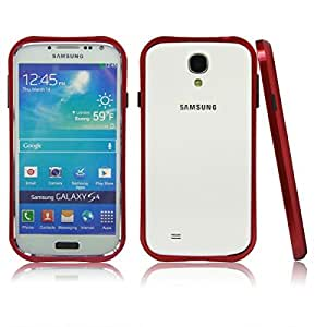 Red Metal Aluminum Hard Bumper Frame Case Cover for Samsung Galaxy S4 S IV i9500