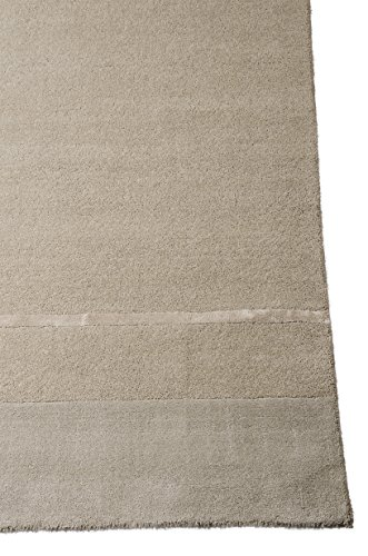 Calvin Klein Home VAL02 CK205 Vale Rectangle Handmade Rug, 4 by 6-Inch, Zinc