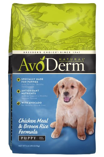 Avoderm Natural Chicken Meal And Brown Rice Formula Puppy Food, 4.4-Pound front-31292