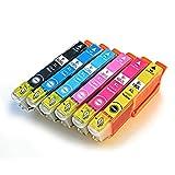 EPSON エプソンプリンターインク [IE11-set] EP-707A用 純正互換インクカートリッジ IC6CL80L互換 染料インク ICチップ付き 6色セット 増量タイプ