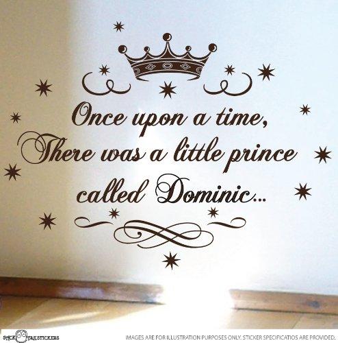 Little Prince Nursery Vinyl Rhyme Wall Art Sticker Decal Children Kids front-991458