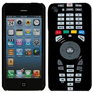 Apple iPhone 5 TV Remote Controller Hard Case Phone Cover