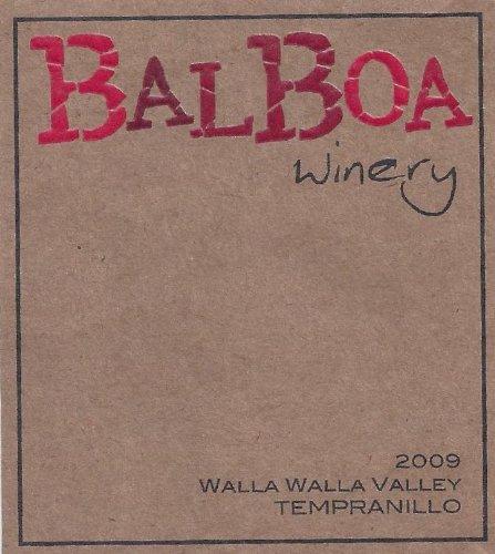2009 Balboa Tempranillo Walla Walla Valley John Cockburn Ranch Vineyard 750 Ml