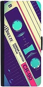 Snoogg Vintage Casettes Designer Protective Phone Flip Case Cover For Redmi 2 Prime