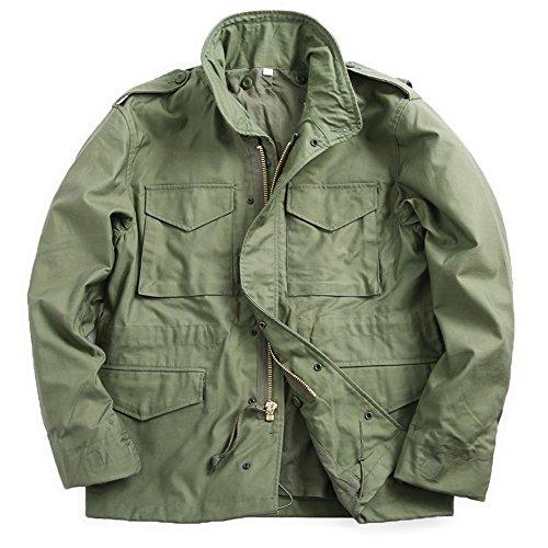 新品 米軍タイトM-65フィールドジャケット (L, オリーブ)