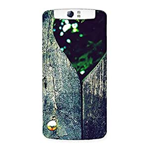 Gorgeous Wooden Vintage Print Back Case Cover for Oppo N1