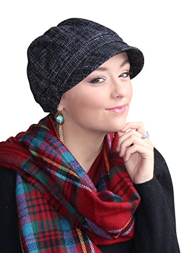 Westminster Newsboy Cap Tweed Hat Chemo Headwear for Cancer Patients (Cancer Head Caps compare prices)