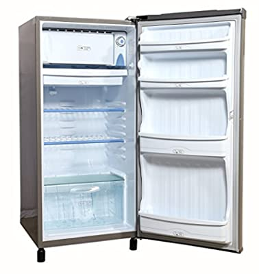 Videocon VAE203 Chill Mate Direct-cool Single-door Refrigerator (190 Ltrs, Silky Grey)