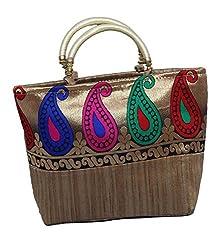 Kuber Industries Mini Handbag 10*10 Inches in stylish design