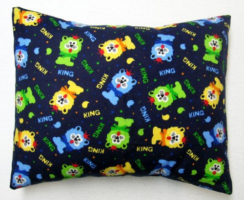 SheetWorld Crib / Toddler Baby Pillow Case - Flannel Pillow Case - Lion King - Made In USA