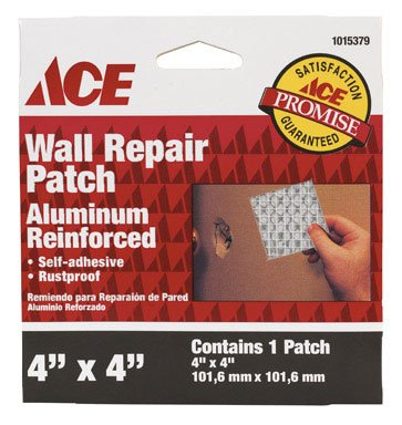 Buy HENKEL 1015379 PATCH DRYWALL REPAIR 4X4(pack of 12) (Gilmour Painting Supplies,Home & Garden, Home Improvement, Categories, Painting Tools & Supplies, Wallpaper Supplies, Wall Repair)