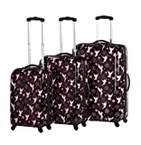 Heys USA Luggage Disney Tinkerbell 3 Piece Hardside Spinner Set