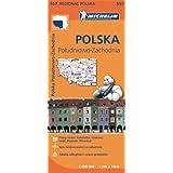 Mapa Regional Polska Póludniowo-Zachodnia / Poland South West (Michelin Regional Maps)