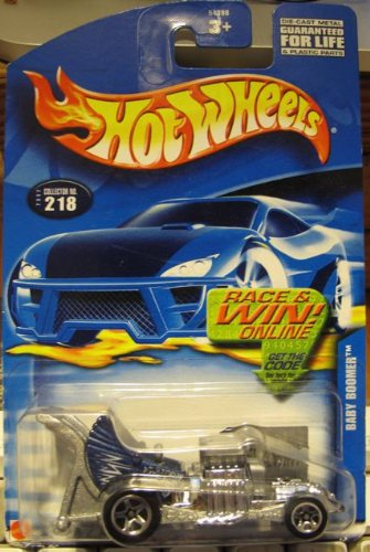 #680 Baby Boomer 5-spoke Wheels Collectible Collector Car Mattel Hot Wheels - 1