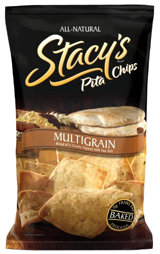 Stacy's Pita Chips, Multigrain, 226 g Bags (Pack of 12)
