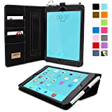 Snugg™ iPad Mini & iPad Mini 2 Retina 'Executive' Leather Case with Lifetime Guarantee (Black) for Apple iPad Mini & iPad Mini 2 Retina