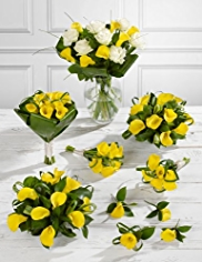 Yellow Wedding Calla Lily Collection 4