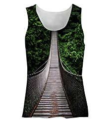 Snoogg One-Way-Home Womens Tunic Casual Beach Fitness Vests Tank Tops Sleeveless T shirts