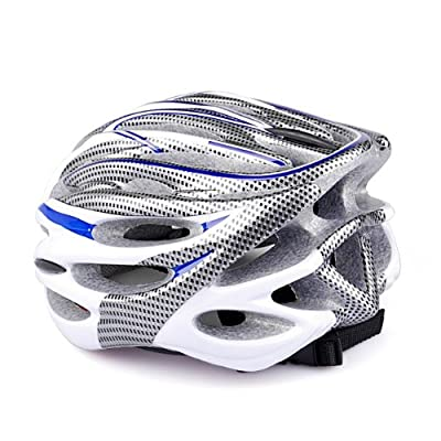 Purple & White Climbing Racing Sport Bicycle Adult Men Bike Helmet from PSgiveU