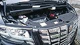 【ミニウエス付】 新型 30系 アルファード ヴェルファイア エンジンカバー エンジン フード カバー エンジンルーム (エンジンカバー)