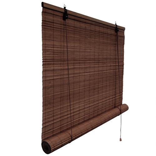 Bambus Rollrollo aus Bambusstäben