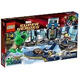 Lego Super Heroes - 6868 - Jeu de Construction - L'Évasion en Héliporteur de Hulk