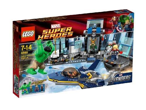 LEGO Super Heroes Hulk's Helicarrier Ausbruch