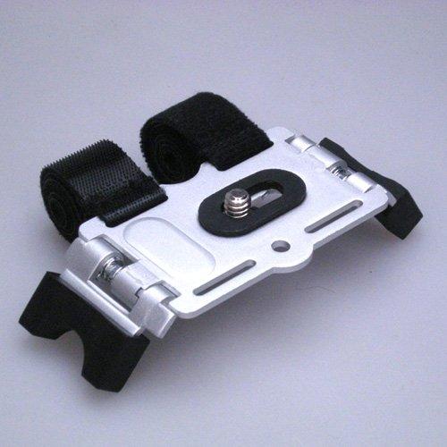 【カメラマウント】デジカメ用コンパクト アクションマウント PS-13A シルバー