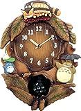 リズム時計 RHYTHM となりのトトロ キャラクター 掛け時計 トトロ M837N 4MJ837MN06