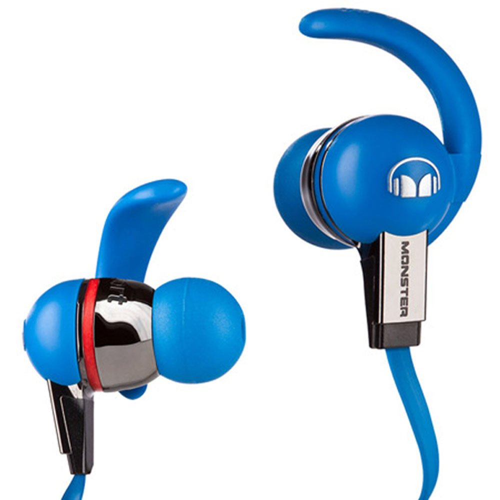 Monster iSport Strive In-Ear Headphones with Control Talk (Blue)