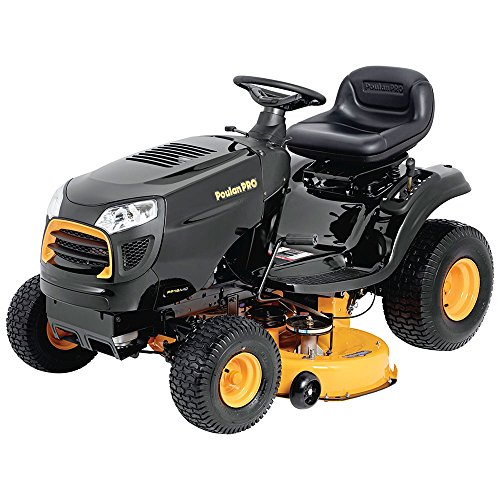 Poulan Pro 960420183 Briggs and Stratton 15.5 hp Pedal Control Automatic Drive Riding Mower, 42