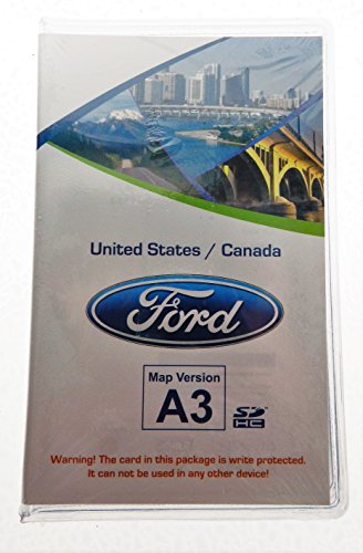 A3 Ford lincoln Navigation SD card Map Chip , SYNC MyFord Touch ,fits 12,13,14 15 Focus Fusion Fiesta C-Max Mustang Taurus Edge Explorer escape F150 & F250 CT4T-19H449-AB (Ford Escape Navigation Sd Card compare prices)
