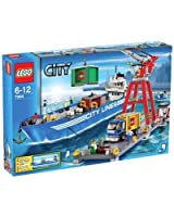 Lego - Castle - jeu de construction - Le port de Lego City