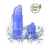 Faltbare Trinkflasche | Leicht, hygienisch, auslaufsicher |...
