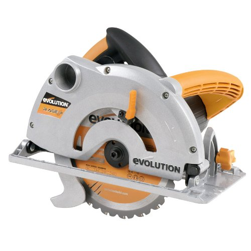 514djYKCCUL - BEST BUY #1 Evolution 041-0002A Rage-B Multipurpose Circular Saw, 185 mm, 230 V