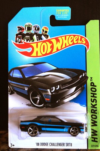 Hot Wheels Hw Workshop Kmart Exclusive - '08 Dodge Challenger SRT8 (Black) - 1
