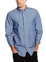 JACK & JONES PREMIUM Camisa Hombre (Azul)