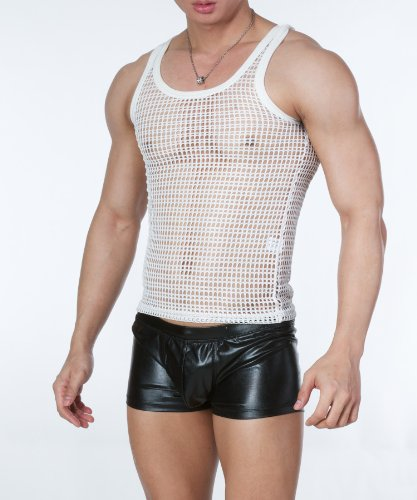 Willem Trimmed Large Net Tight Tank Top