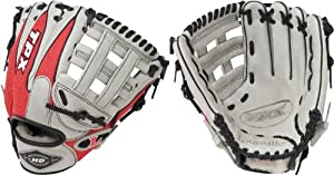 Buy Louisville Slugger 11.75-Inch TPX HD9 Hybrid Defense Ball Glove (Scarlet Gray) by Louisville Slugger