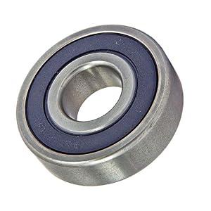 10 Bearing 6301-2RS 12x37x12 Sealed: Deep Groove Ball