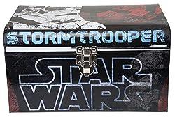 Disneys Star Wars, Multi Colored Flat Top Trunk, Small