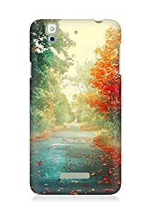 Amez designer printed 3d premium high quality back case cover for YU Yureka (Nature)