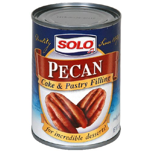Buy Solo Pecan Filling, 12 Ounces (Pack of 6) (Solo, Health & Personal Care, Products, Food & Snacks, Baking Supplies, Pie & Cobbler Fillings)