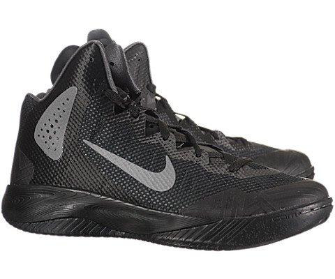 Nike Men s NIKE ZOOM HYPERENFORCER XD BASKETBALL SHOES 10 5 BLACK METALLIC  SILVER DRK GREY d8cb3e92b7