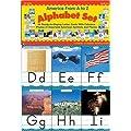 Scholastic SC942057 America From A to Z Manuscript Alphabet Set
