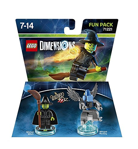 LEGO Dimensions Wicked Witch Fun Pack (Böse Hexe) (The Wizard of Oz) [Edizione: Germania]